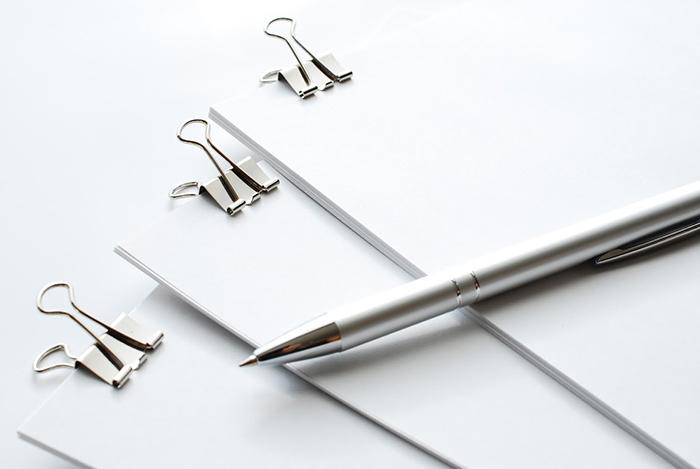 ファイルとペン