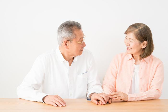 相続を考えている老夫婦